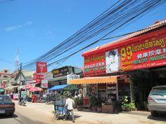 Siem Reap town view