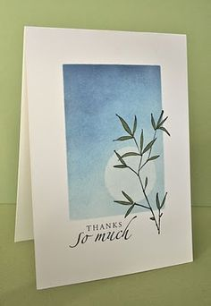 Shelley's Stamping Ground: One-Layer Wednesday Challenge 8 - Embrace Life Stampin Up Asian Cards, Karten Diy, Some Cards, Watercolor Cards, Sympathy Cards, Flower Cards, Greeting Cards Handmade, Diy Cards, Homemade Cards