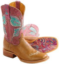 Tin Haul Glitterfly Cowboy Boots