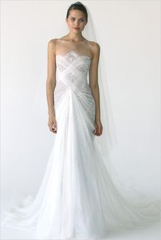 Marchesa 2012 fall bridal gown