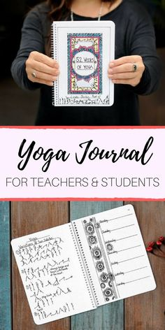 52 WEEKS OF YOGA - Journal & Yoga Classes for Your Personal Practice. ideal for Yoga teachers & Yoga teacher trainees who wish to add variety to their teaching. It is also advantageous to Yoga students. Yoga Lifestyle, journal, journaling, mindfulness, YTT, yoga teacher training #etsy #ad #planning