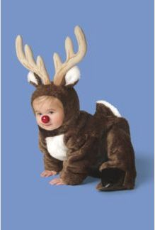 Little reindeer costume child christmas pinterest reindeer