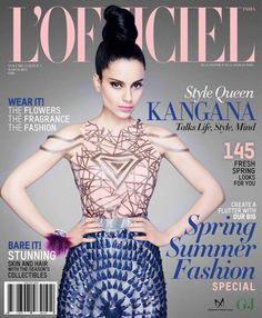 Style Queen Kangana Ranaut covers L'Officiel | PINKVILLA