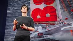 Dame Ellen MacArthur: The surprising thing I learned sailing solo around the world | TED Talk | TED.com her story inspires me to be who I am, a curious explorer. (*.*)