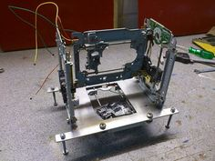 Man Creates a 3D Printer for Under $75 – And you can too! http://3dprint.com/4903/3d-printer-under-75-dollars/