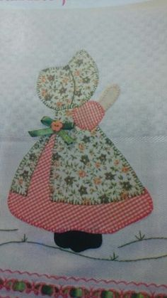 The Ultimate Sunbonnet Sue Quilt Blocks Recapture the Charm of Yesterday's Machine Embroidery Applique, Applique Patterns, Applique Quilts, Applique Designs, Hand Embroidery, Quilt Patterns, Quilting Projects, Quilting Designs, Sewing Projects