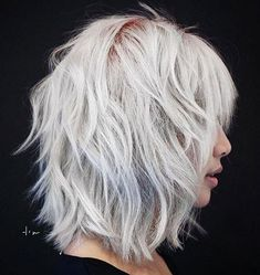 60 Best Variations of a Medium Shag Haircut for Your Distinctive Style 60 Best Variations of a Medium Shag Haircut for Your Distinctive StyleMedium sh. - 60 Best Variations of a Medium Shag Haircut Medium Shag Haircuts, Layered Bob Hairstyles, Short Bob Hairstyles, Hairstyles Haircuts, Bob Haircuts, Haircut Medium, Medium Shaggy Bob, Shag Bob Haircut, Trendy Hairstyles
