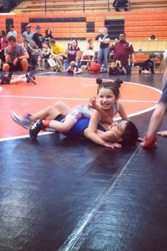 Who says girls can't wrestle?! Fitness. Sports. Tot. Aau wrestling. Working. Girls vs. boys