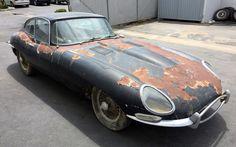 Jaguar Type, Jaguar Xk, Jaguar Cars, Abandoned Cars, Abandoned Vehicles, Abandoned Places, Jaguar Daimler, Rust In Peace, Rusty Cars