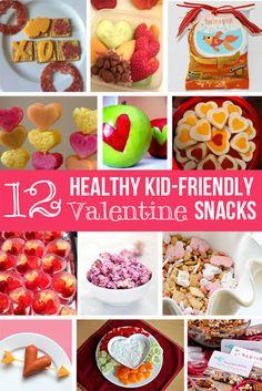 12 Valentine's Healthy Snacks for Kiddos