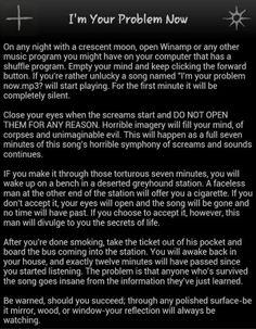 creepypasta scary story :D