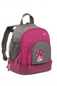 Lässig Kinderrucksack Rucksack 4Kids Mini Backpack Mushrom magenta pink