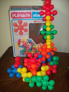 Vintage Playskool Star Links Put Together Toy for Ages 1 to 4 Years 1981
