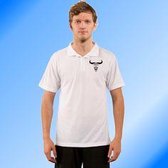 Polo - Little Bighorn Men's Polo, Bison, Impression, Mens Tops, T Shirt, Fashion, Horn, Men Styles, Supreme T Shirt