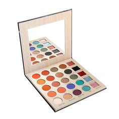 Eye Shadow Beauty & Health Professional 16 Colors Nocturne Eyeshadow Palette Makeup Eye Shadow Pallete Matte Shimmer Glitter Pigmented Smoky Balm Cosmetic Firm In Structure