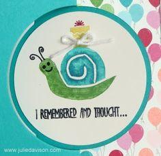 Snail carved by Julie Davison