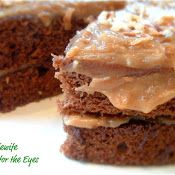 A Feast for the Eyes: Guilt-free German Chocolate Cake that tastes sinfully good! Yes, it's very possible