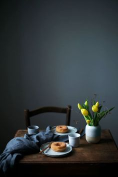 elorablue:Coffee & Donuts | By Our Food Stories
