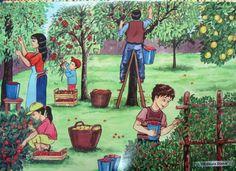 Cartoon Pics, Tole Painting, Farm Animals, Art Sketches, Artsy, Fall, Autumn, School, Naturaleza