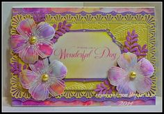 #cre8time for Spring with #Stampendous - Fresh Bloom on Lorraine's Blog today!
