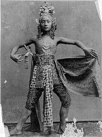 Javanese dancer, 1885