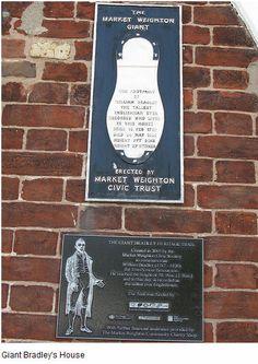William Bradley, Britain's tallest recorded man, Market Weighton, East Yorkshire Bradley House, Kingston Upon Hull, East Yorkshire, Tall Guys, Britain, England, Marketing, History, Historia