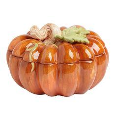 Harvest Pumpkin Soup Tureen
