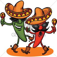 Funny Mexican Clip Art Free | Items · GL Stock Images