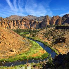 Smith Rock in Central Oregon!