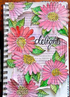 Beginning Your Art Journal - CreativeMeInspiredYou.com