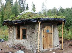 cob and cordwood construction | ... Vilkman Finland permission to use OK 9 low rez | Cordwood Construction
