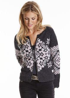 Odd Molly Air Bender Sweater 815M-801 asphalt – acorns