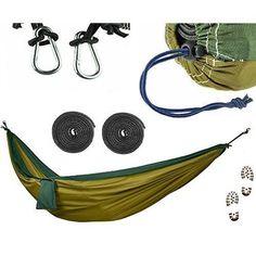 Military Hammock Jungle Grade Heavy Duty Parachute Camping Hiking Outdoor Bed #BebebyMeInternational