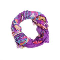 We're bringing back Summer of Love style with the Paige Wrap. Paisley has been a popular pattern for decades and it's no surprise why. It's beautiful. It's versatile. And now, we're giving it to you on a multi-functional wrap you can sport just about anywhere - any way!  Find it on Splendor Designs