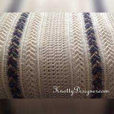 Close up of the Queen Sized Aran blanket.  #crochetblanket #crochet #afghan…