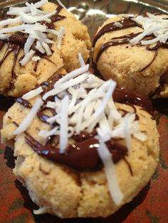 Janine's Real Food Recipes: Grain Free Egg Free Coconut Flour Cookies With Grapefruit