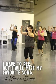 :: visit TheWeighWeWere.com :: - SO TRUE! Zumba!!