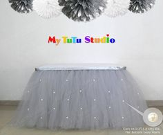 ~~~~~~~~~~~~~~~~ 100% HAND KNOTTED TULLE SKIRT ~~~~~~~~~~~~~~~~ I only use Triple AAA-quality tulle ! Beware of low quality Tulle skirts ! Every Skirt is 100% Hand-knotted, resulting in a very full, voluminous skirt which has a very high amount of tulle versus some other skirts on the market. You will receive the ROLLS ROYCE among all tulle skirts. My hand-knotted skirt creates a very rich and luxurious atmosphere and it will be the eye catcher at your party. -- COMMUNICATION: I will…