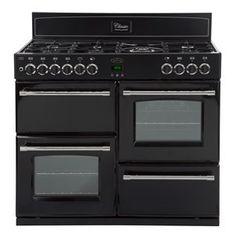 Belling Classic 100GT Gas Range #Cooker Black