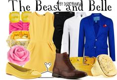 """""""The Beast and Belle"""" by lalakay ❤ liked on Polyvore"""