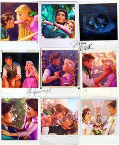 Rapunzel & Flynn :D Disney Magic, Disney Art, Disney Pixar, Walt Disney, Disney Rapunzel, Princess Rapunzel, Rapunzel Movie, Mermaid Disney, Pixar Movies