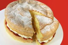 Victoria Sponge Cake which you can alter the ingredients according to the number of people you are making for.
