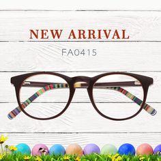 334cd1effef Alma Cat Eye Brown Glasses FA0415-01
