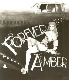 Bomber Girls-Amazing Pin-Up on The Planes | Wicked Mood