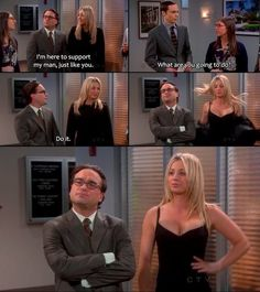 Lol! Loved this episode. Well, I love any bbt episode.
