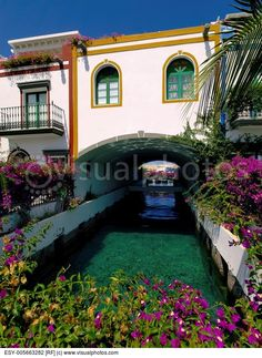 Puerto Mogan  tourist destination on Gran Canaria  Canary Islands  Spain.