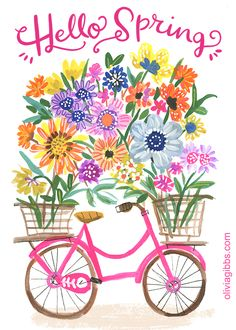 1st Day Of Spring, Happy Spring, Spring Fever, Spring Time, Hello Spring Wallpaper, Spring Quotes, Emoji Symbols, Printable Paper, Watercolor Cards