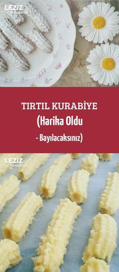 Tırtıl Kurabiye (Harika Oldu - Bayılacaksınız) Cake Recipes, Dessert Recipes, American Food, Cookies Et Biscuits, Beautiful Cakes, Delicious Desserts, Food And Drink, Appetizers, Cooking Recipes