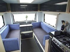Five-Star Caravans - The Stealth Defiant is Your Mobile Home Away from Home (GALLERY)