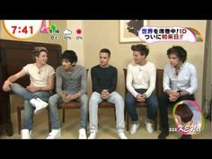 One Direction in Japan Tokyo News program 1D ①+②